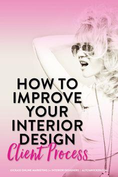 Interior Design Client Process