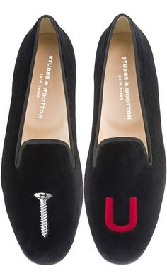 Screw You slippers by Stubbs & Wootton