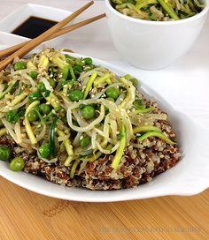 Quinoa Vegetable Stir Fry – The Lean Clean Eating Machine