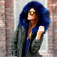 COMES WITH GOOD KARMA :)  Our GreenCollection Parkas are all 100% EU Made, come with recycled rabbit fur & are 100% eco-friendly. You deserve it. Parka: http://www.welovefurs.com/en/green-collection/97-fur-parka.html