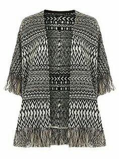 Dorothy Perkins | Aztec Knit Blanket