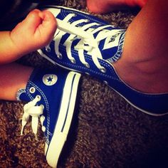 my cousin and baby cousin's matching converse <3 (mother and son) so cute !