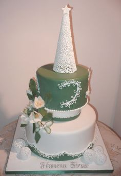 My Christmas cake - by Filomena72 @ CakesDecor.com - cake decorating website