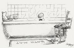 Winnie-the-Pooh, иллюстрации Эрнеста Шепарда, 1926г.