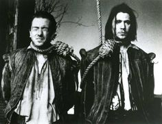 Tim Roth and Gary Oldman in Rosencrantz and Guildenstern Are Dead (1990)