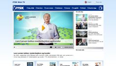 JYSK web tv forside