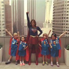 Supergirl Melissa Benoist Girl Scouts