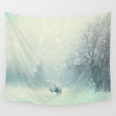 Different dont mean weak Wall Tapestry