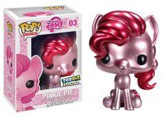 Amazon.com: Funko POP! My Little Pony Exclusive Vinyl Figure Metallic Pinkie Pie: Toys & Games