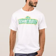 Sesame Street Sign T-Shirt - tap, personalize, buy right now!