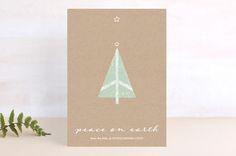 A Little Peace Tree by sooperstuff at minted.com