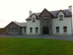 Super house plans ireland 2 storey ideas - Home & DIY Dream Home Design, My Dream Home, Dream House Exterior, House Exteriors, Exterior Design, Exterior Homes, Exterior Colors, House Designs Ireland, Stone Porches