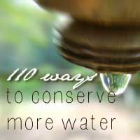 100+ Ways to Conserve Water