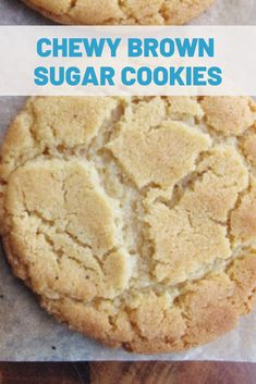 Buttery cookies made with brown sugar. Unbelievably simple, soft and chewy. These tender Brown Sugar Butter Cookies are an easy dessert to make! Brown Sugar Cookie Recipe, Brown Sugar Cookies, Cinnamon Cookies, Sugar Cookies Recipe, Yummy Cookies, Fall Cookies, Homemade Sugar Cookies, Buttery Cookies, Recipes With Brown Sugar