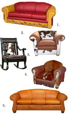 Rustic and Western Furniture Faves from RusticArtistry.com picked by Cowgirl Magazine