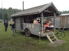 82 Mobile saunas of Finland – Ruusis Mobile Sauna, Building A Sauna, Sauna House, Wood Fuel, Small Trailer, Land Use, Number Two, Heating Systems, Finland