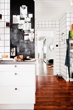 A cool monochrome Swedish home