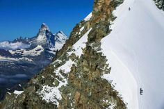 OF MAN AND MOUNTAIN Switzerland from above