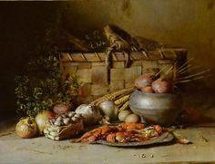 Yury Nikolaev Russain Still Life Paintings