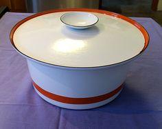 Swedish Casserole Dish // Lid and Teak Sleeve // Catherine Holm style