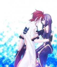 Tear and Luke Tales of Abyss