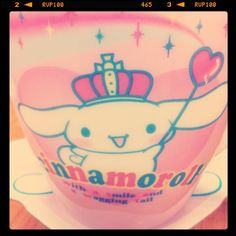 Cinnamoroll cup! One of my fave Sanrio characters :D