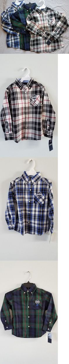 Mixed Items and Lots 15620: $108 Msrp Lot Of 3 Boys Size 4 5 Xxs Chaps By Ralph Lauren Button Down Shirt New -> BUY IT NOW ONLY: $108.95 on eBay!
