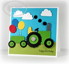 Happy Birthday by Mylittlecraftblog - Cards and Paper Crafts at Splitcoaststampers