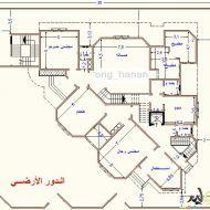 احسن مخطط منزل Architectural House Plans, Family House Plans, Paint Colors, Floor Plans, House Design, Flooring, How To Plan, Architecture, Pdf