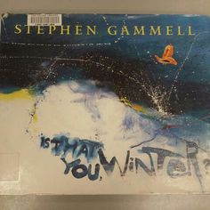 Is That You Winter? by Stephen Gammell, Silver Whistle 1997. This book is appropriate for K-3rd. Positive features include use of font in text to match illustration. The child would visually enjoy this book. Children would learn that imagination has no limits. I would recommend this book to children.
