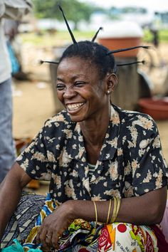 woman from Democratic Republic of Congo,  (photo from CIFOR, flickr)