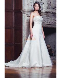Augusta Jones 2013 Elegante Luxuriöse Hochzeitskleider aus Organza