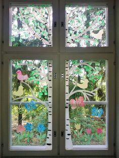 Kesäinen ikkunakoriste <3