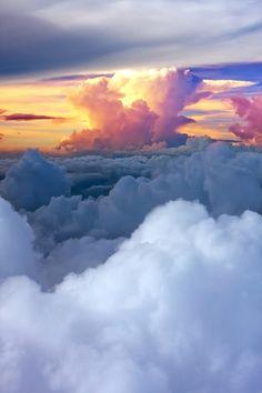 floating on cloud nine!