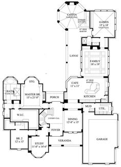 This lovely Luxury style home with Traditional influences (House Plan #134-1114) has 4461 square feet of living space. The 2 story floor plan includes 4 bedrooms.