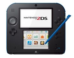 Nintendo 2DS Gaming Console. If this thing isn't like 50 dollars cheaper than the 3DS I am so done.