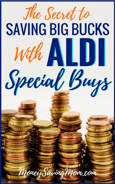 ALDI Special Buys: One of ALDI's best kept secrets that will save you TONS of money! Money Saving Meals, Save Money On Groceries, Ways To Save Money, Money Tips, Money Savers, Living On A Budget, Frugal Living Tips, Frugal Tips, Aldi Specials