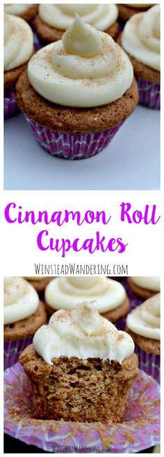 Bringing all the classic flavors without the time of effort using yeast, cinnamon roll cupcakes are the perfect rich, decadent addition to any celebration.
