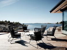 Outdoor Chairs, Outdoor Furniture Sets, Outdoor Decor, Cottage Homes, Archipelago, Marines, Villa, Photography, Beach Houses