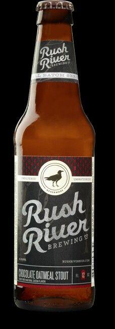 Rush River chocolate oatmeal stout.