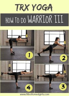 TRX Warrior 3! Merge the exercises to get a totally different spin on your normal workout!
