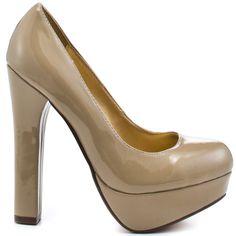 Heels I Love #heels #summer #high_heels #color #love #shoes Love Struck - Nude                      Luichiny