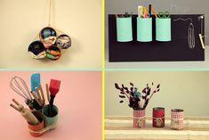 Cuatro maneras fantásticas de reutilizar viejas latas