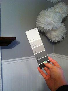 Valspar 335-2 Nimbus Cloud- our new master bedroom color!