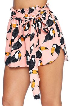 Toucan Tango Flouncy Shorts - LIMITED