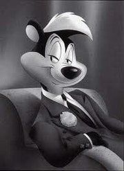 Pepe Le Pew- childhood entrainment to some, serial cat rapist to others. I grew up watching him, and I turned out fine.