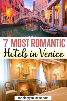 See these 7 most romantic hotels in Venice, Italy! They're the best Venice hotels for couples. Find affordable romantic Venice hotels and lovely splurges. Italy Travel Tips, Europe Travel Guide, Travelling Europe, Backpacking Europe, Travel Abroad, Travel Guides, Venice Italy Hotels, Venice Hotel, Affordable Hotels