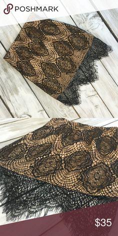 Tobi Lace Skirt Great condition, never worn Tobi Skirts