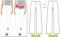 To sew women trousers, a dressmaker needs to understand the different styles of women trousers available. Trousers is one of the most worn garments and should be found in women wardrobes. To sew a well fitted trousers for a woman, you should consider the figure size of the wearer...