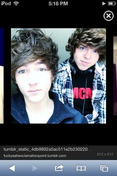 Paul zimmer and danny edge <3